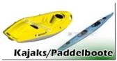 Paddelboote /Kajaks