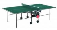 Sponeta s 1-12i - Tischtennistisch, indoor, grün, nicht wetterfest