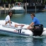 Suzumar 310 VIB Schlauchboot komplett mit Suzuki DF 8 AS 4-takt Aussenborder