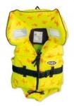 Baltic Kinderweste 100 N, gelb, (Mod. 1255) / unter 15 kg