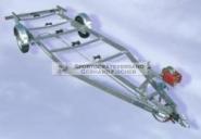 Harbeck Bootstrailer für Motorboote - B1600MAL