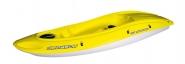 Einerkajak BiC OUASSOU Yellow Aufsitzer Paddelboot als Spaßboot und Wellenreiter