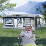 Herzog Chalet DC 240 Größe 04 Wohnwagen-Vorzelt - doppelseitig beschichtetes Dach