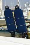 Fendercover blau KN 520 / Ø 125 x 540 mm