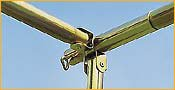 dwt Basisgestänge aus Stahl für dwt Flair Vario Modul Sonnendach