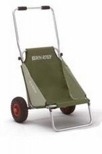Eckla Beach Rolly, Kanuwagen, Transportwagen, Bootswagen olivgrün