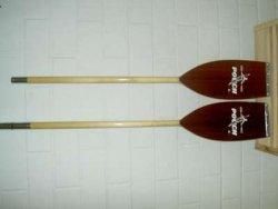 Pouch Doppelpaddel aus Holz, teilbar
