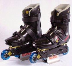 Tecnica PS 3 Gr.42,5 Inliner Skates weniger als zum halben Preis