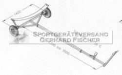 Harbeck Boots Slipwagen AL28F, Aluminium