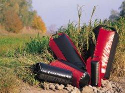 Ortlieb 'Packsack PS490' XL - schwarz-rot wasserdicht