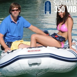 Suzumar 350 VIB Schlauchboot komplett mit Suzuki DF 8 AS 4-takt Aussenborder