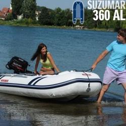 Suzumar 360 AL Schlauchboot komplett mit Suzuki DF 8 AS viertakt Aussenborder