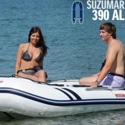 Suzumar 390 AL Schlauchboot komplett mit Suzuki DF 20 AS viertakt Aussenborder