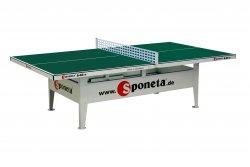 Sponeta s 6-66e - fester Tischtennistisch, wetterfest, grün