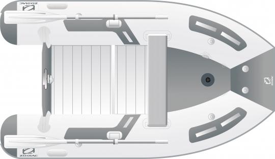 Zodiac Cadet 270 Alu Strongan Schlauchboot