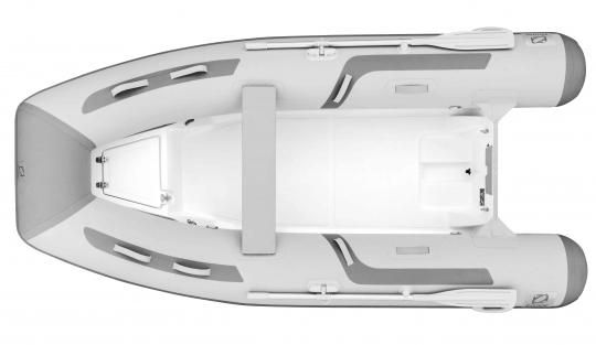 Zodiac Cadet 310 RIB Neo GFK Festrumpfboot weiß-grau