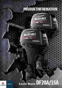 SUZUKI DF 15 AS Aussenborder mit Kraftstoffeinspritzung und Lean-Burn-System - führerscheinfrei