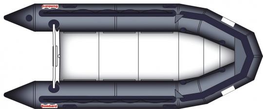 Bombard Commando C5 Schlauchboot -Langschaft