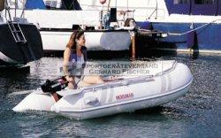 Suzumar 320 AL Schlauchboot - komplett mit Aussenborder Suzuki DF 9,9 BS viertakt nur 38,1 kg