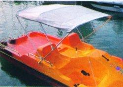 Sonnendach für Tretboot Flamingo