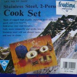 Edelstahl Cook Set - 4 teiliges Koch-Set aus Edelstahl
