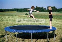 Fun 43 Garten-Trampolin Durchmesser 4,30 m - ideales Gartentrampolin als Außentrampolin für den Garten
