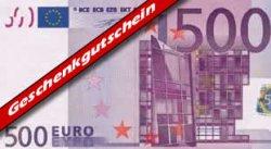 Geschenk-Gutschein 500 Euro