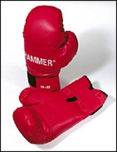 Hammer Boxhandschuhe Fit schwarz - 8 oz