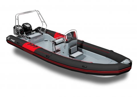 Zodiac Pro 850 Neo schwarz Festrumpfboot