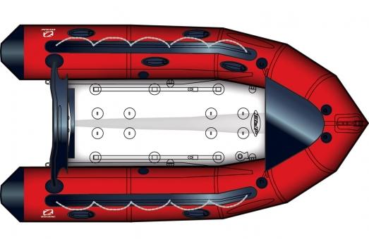 Zodiac Futura Mark 2 C VERSION PACK Alu Strongan Schlauchboot