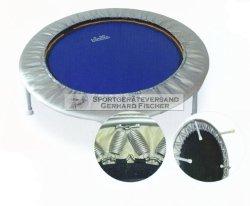 Heymans Trimilin Pro Plus bis 180 kg Durchmesser 102 cm blau/silber - Klappbeine