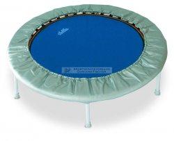 Mini-Trampolin Super Swing plus, Plus, Durchmesser 120 cm, Trampolin mit einklappbaren Beinen, blau