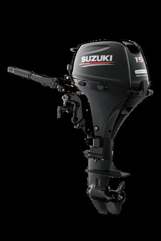 Suzuki DF 15ATL Lean Burn Aussenborder