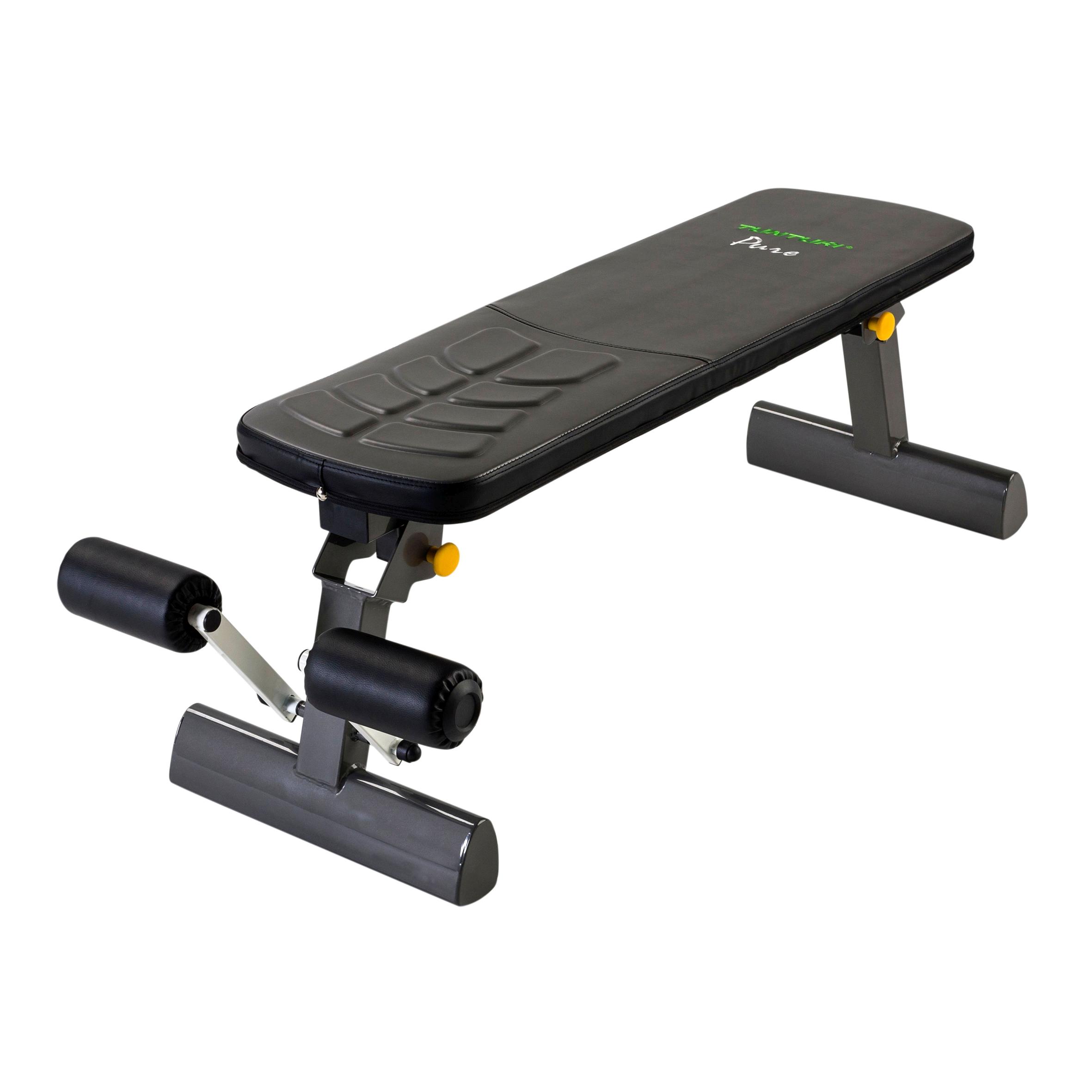 Tunturi Hantelbank Pure Kraft Flat Bench aktuelles Modell | Hantelbänke