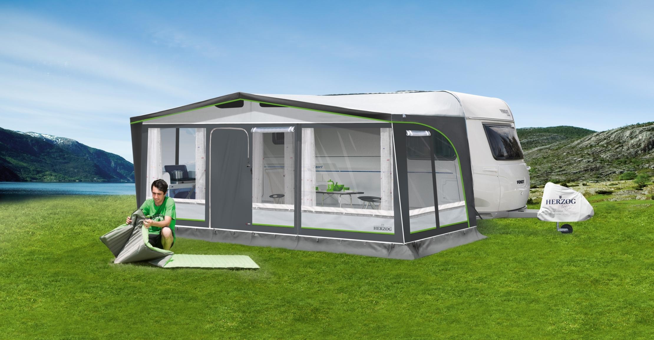 herzog sunset super gr e 08 wohnwagen vorzelt. Black Bedroom Furniture Sets. Home Design Ideas